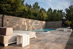 Tuinontwerp wellness tuin Studio REDD Exclusieve tuinen. #zwembad #wellness #buitendouche #jacuzzi #Jeeo #Borek