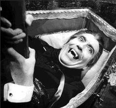 Christopher Lee-Drácula.  El mejor Drácula de la historia del cine.