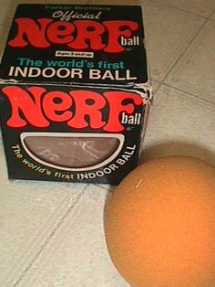 Nerf when these came out, it was like a free-for-all inside the house.  They advertized how you could throw them in the livingroom and they'd hit lamps and do no damage.