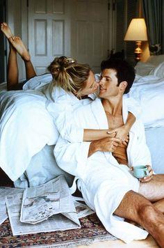 pareja tomando cafe