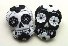 diy candy skulls