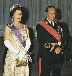 Queen Elizabeth's visit to Yugoslavia in 1972 with President Josip Broz Tito