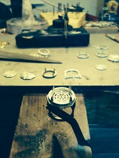 Behind the scenes of our money spider ring in production...