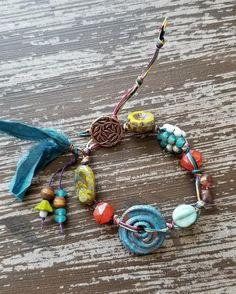 Jewelry Ideas, Diy Jewelry, Beaded Jewelry, Handmade Jewelry, Jewelry Design, Jewelry Making, Bracelet Knots, Tassel Bracelet, Beaded Bracelets