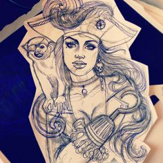 Tattoo Artwork by Steffi Boecker at Straight Ink in Brandenburg, Germany