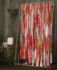 DIY ribbon wedding d