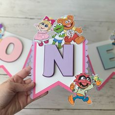 First Birthday Themes, Baby First Birthday, Happy Birthday Banners, Birthday Party Decorations, First Birthdays, Birthday Ideas, Toy Story Cake Toppers, Toy Story Cakes, Custom Cake Toppers