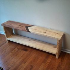 Entryway bench shoe storage bench shoe cubby shoe by GatsbyTimber.  Based in Georgia.