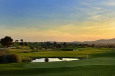 Magic evening at Son Gual, Mallorca