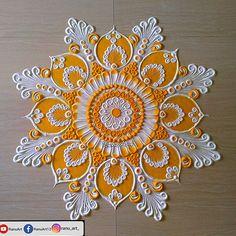 Rangoli Designs Latest, Rangoli Designs Flower, Rangoli Border Designs, Colorful Rangoli Designs, Rangoli Designs Diwali, Rangoli Designs Images, Beautiful Rangoli Designs, Mehndi Designs, Rangoli Borders