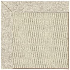 Capel Inspirit Linen Machine Tufted Natural Area Rug Rug Size: Round 12' x 12'