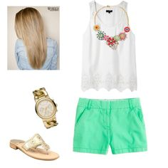 """""""First day of school outfit idea #1"""" by honeyybadgerr on Polyvore"""