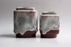 Vintage German Dumler & Breiden Vases 60s - Set of Two