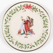 Lenox Annual Holiday Plate Santa Claus 1994