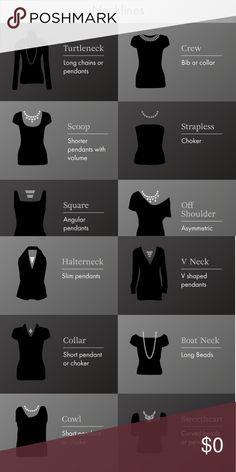 Necklace Length Guide – Choosing A Nec. Necklace Length Guide – Choosing A Necklace That Is Right For You Fashion Terms, Fashion Mode, Diy Fashion, Ideias Fashion, Fashion Outfits, Fashion Design, Necklace Length Guide, Necklace Lengths, Hair Length Guide