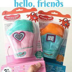 Perfect baby shower gift  Yummy Mitt Teething Mitten