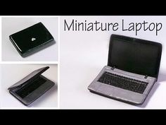 Creating Dollhouse Miniatures: Miniature Laptop Tutorial