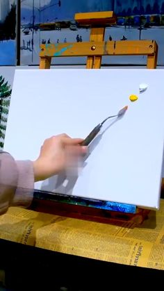 Small Canvas Paintings, Easy Canvas Art, Small Canvas Art, Canvas Painting Tutorials, Diy Painting, Art Drawings Sketches Simple, Acrylic Art, Savings Challenge, Bus Camper