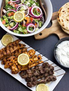 Greek Souvlaki marinade and how to grill