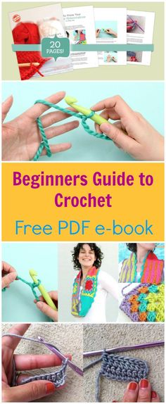 Crochet For Beginners Tutorial Free E-Book Download