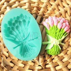 Buket Çiçek Sabun ve Kokulu Taş Silikon Kalıbı - 7.99 ₺