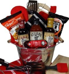 Amazon Delight Expressions Fire It Up BBQ Gift Basket