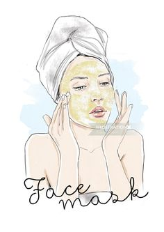 Illustration of woman applying makeup Body Shop At Home, The Body Shop, Coconut Oil For Face, House Of Beauty, Tips Belleza, Contemporary Fashion, Beauty Routines, Beauty Photography, Mary Kay