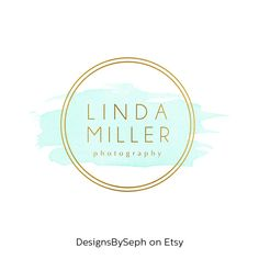 Pre-made Logo Design & Photography Watermark  by DesignsBySeph                                                                                                                                                                                 More