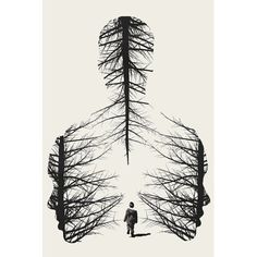 'The Walk' Graphic Art Print