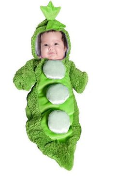 Pea in a Pod Infant Costume