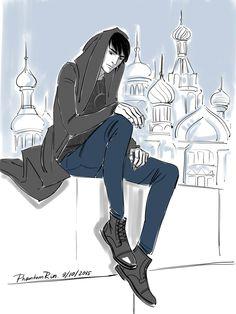 The Darkling modern by phantom rin