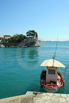 Nafpaktos port entrance(where i am from)