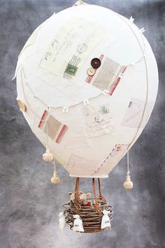 Paper Mache Hot Air Balloons For Dr Suess Week? Oh The Places You