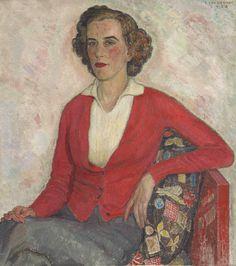 Portrait of Miss Elizabeth Enys