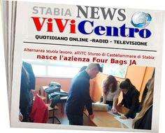Alternanza scuola lavoro, all'ITC Sturzo di Castellammare di Stabia nasce l'azienza Four Bags JA
