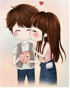 Image Result For Cute Girly Couples Christmas Cartoon Us Love