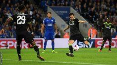 Former Barcelona midfielder Cesc Fabregas scored twice in extra time…