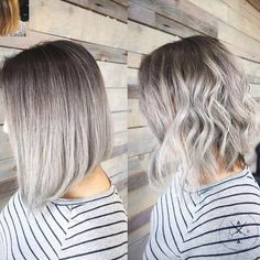 Omg I think I'm in love #silver #ombrehair #ombre #hombrehair #hombre #pretty #hairstyles #greyombre #greyhombre #greyombrehair #greyhombrehair #silverombre #silverombrehair #silverhombre