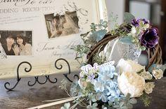 フィーノのウェルカムリース - Welcome wreath - Fino - Welcome Wreath, Reception, Bouquet, Wreaths, Door Wreaths, Bouquet Of Flowers, Bouquets, Receptions, Deco Mesh Wreaths