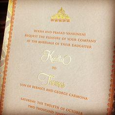 """""""Jasmin"""" design by Invitations by Ajalon @invitationsbyajalon"""