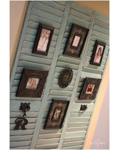 Creative uses for old shutters...