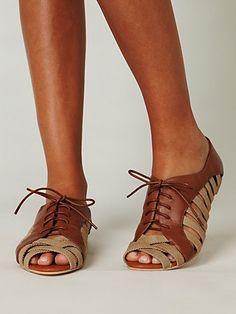 these are pretty darn cute!   Hoyt Oxford Sandal