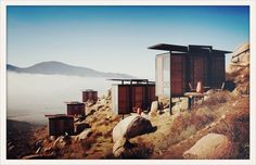Hotel Endemico in Valle de Guadalupe, Baja Mexico; 20 cabins, private terraces, pool, cooking classes