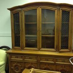 Elegant Breakfront Primitive Antiques, Antique Art, Room Set, Gentleman, Bookcase, Dining Room, Display, Dishes, Cabinet