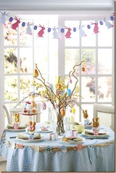 tablescape - be creative with twigs and tree branches