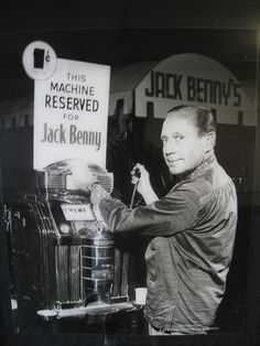 Gambling History: One-Cent Slot Machine Reserved for Jack Benny Ronald Colman, Cheetahs, Vintage Slot Machines, Las Vegas, Cities, Jack Benny, Golf Pictures, Old Time Radio, Gambling Quotes