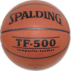 Spalding TF-500 Intermediate Basketball, Brown