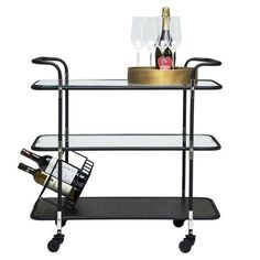 Contemporary Drinks Trolley
