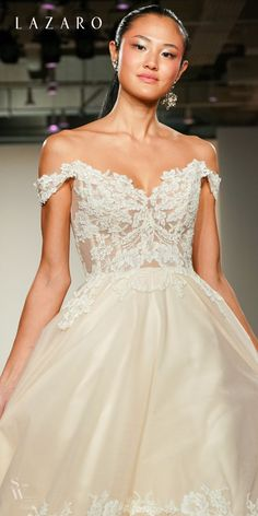 b35246f58c Let your beauty SHINE with #Lazaro bridal designs!! #bridalgown #bridal #