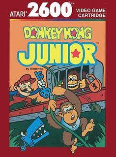 Why's Mario being a prick, bro? #thanksbro #badass80sthings #atari #donkeykongjr #doucheymario www.thanks-bro.com